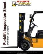 forklift inspection sheet