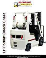 lp forklift check sheet