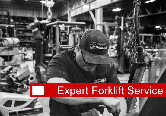 expert forklift service