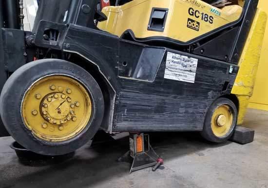 Forklift Jack Stand