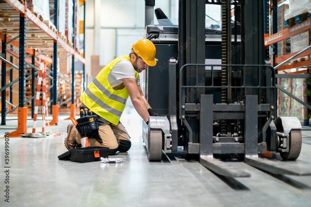 4 Forklifts Parts That Are Usually Replaced During Repairs